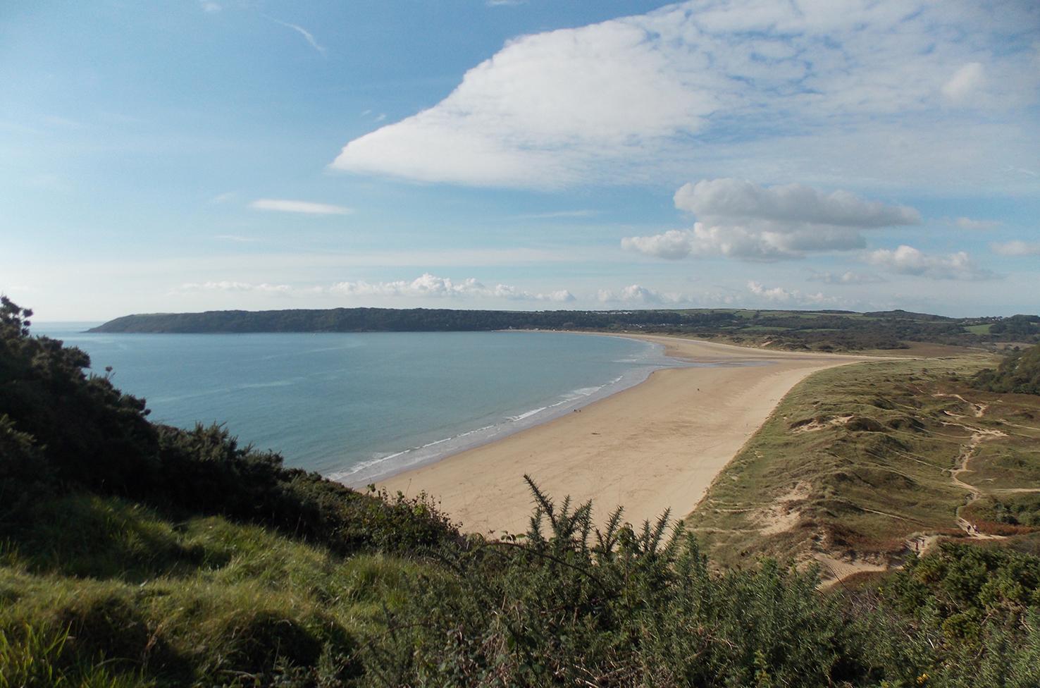 How Long Is Oxwich Bay Beach